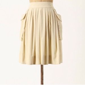Anthropologie Maeve Effortless Corduroy Skirt